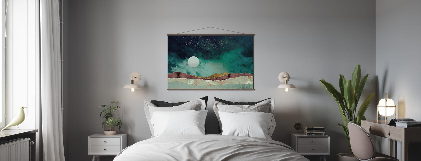 Spring Night - Poster - Bedroom