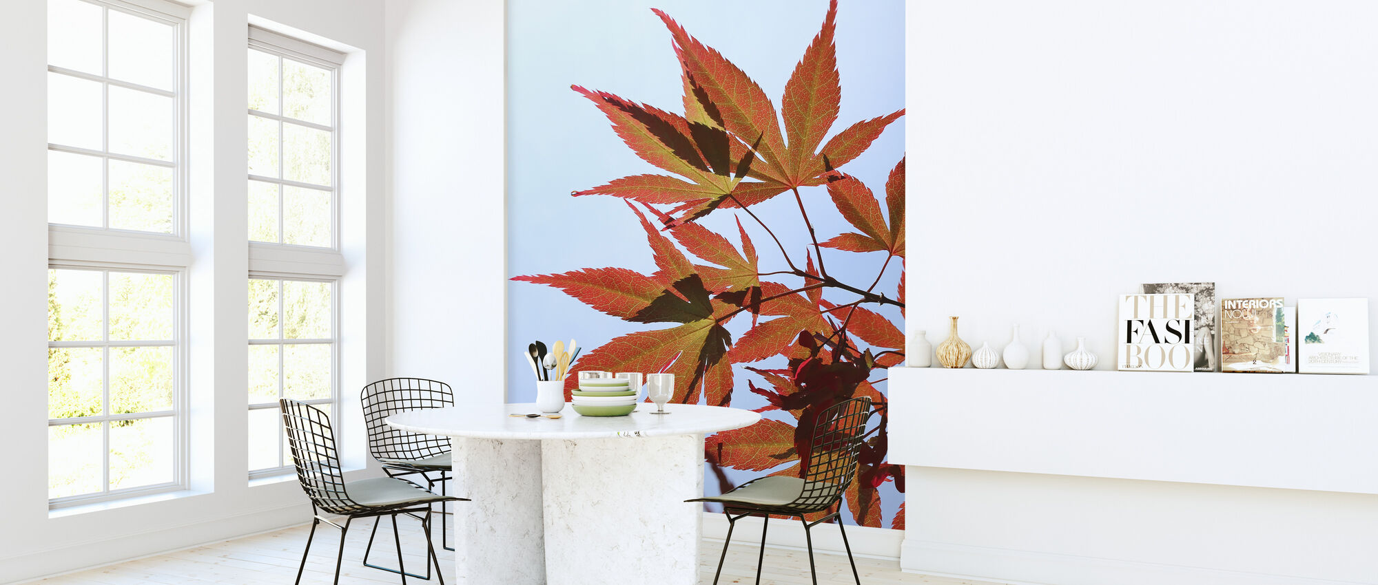 Maple Leaves in Autumn - Wallpaper - Kitchen