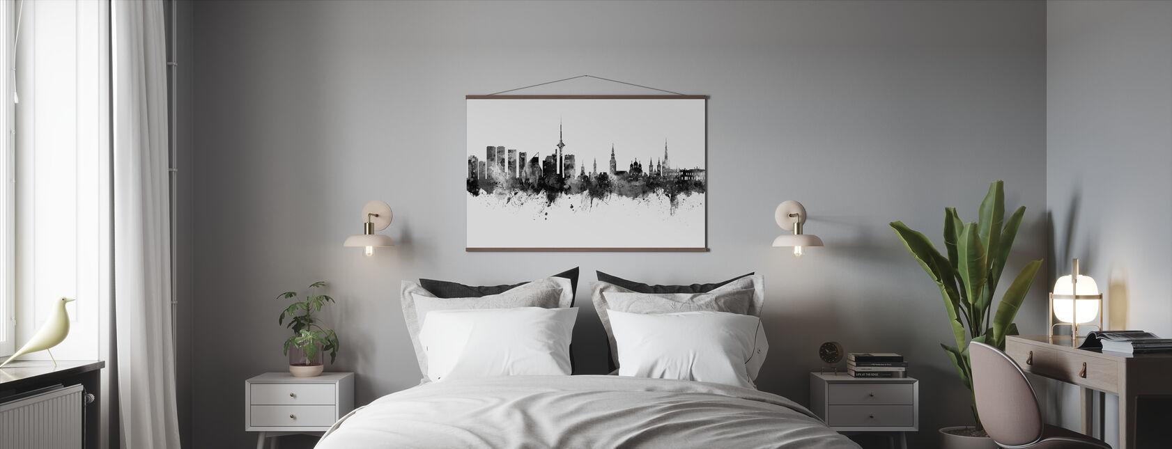 Tallinn Estonia Skyline - Poster - Bedroom