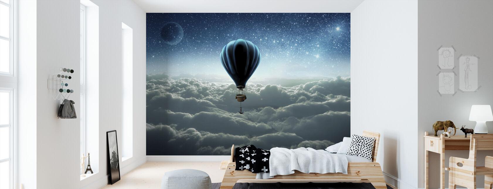 Varmluftsballong - Tapet - Barnerom