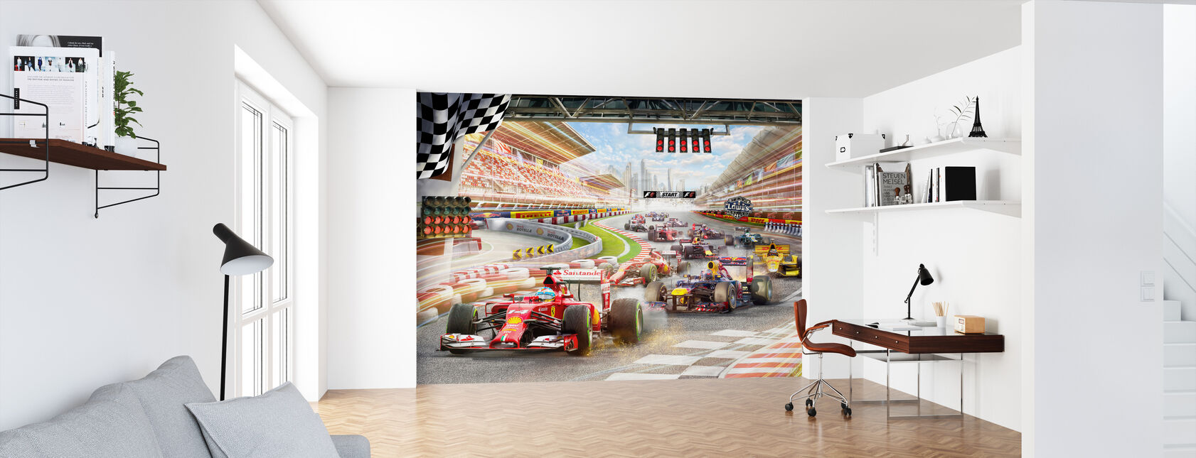 Formula 1 - Wallpaper - Office