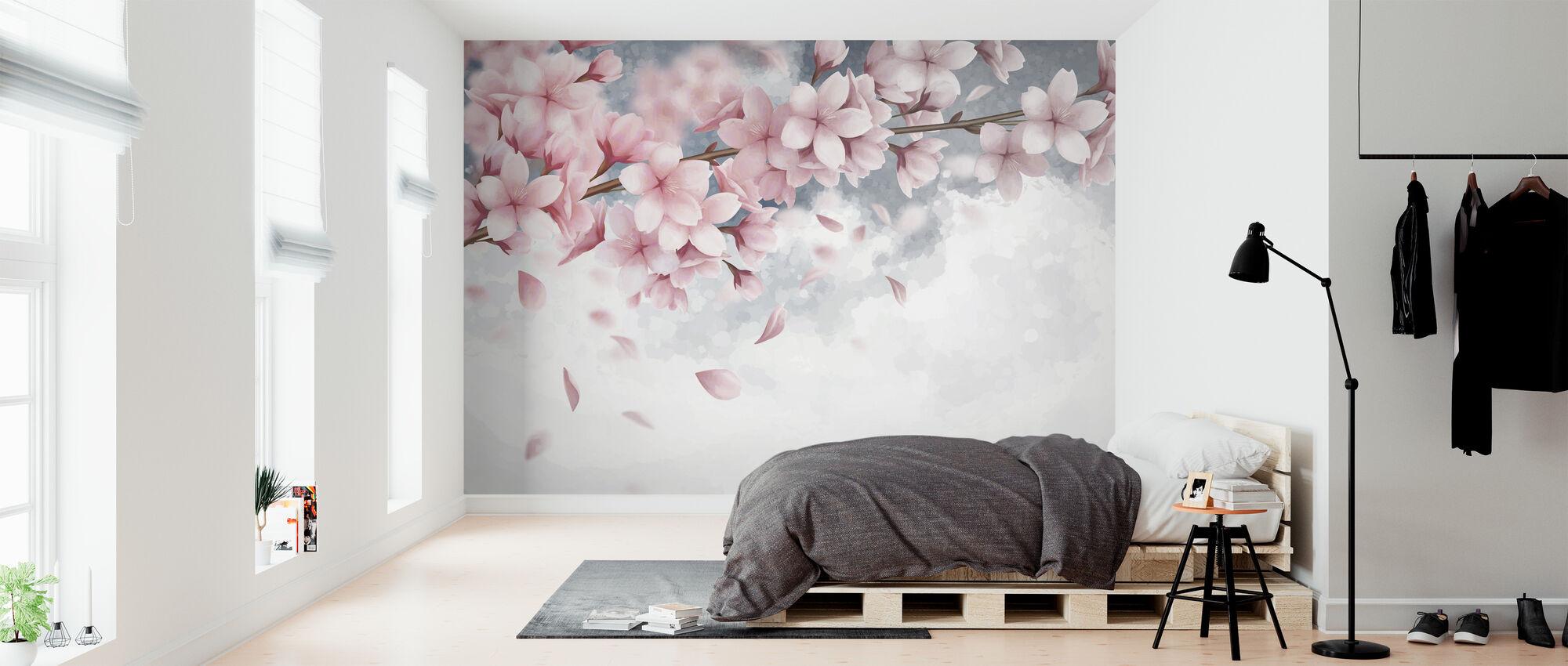 Sakura Bloom - Tapetti - Makuuhuone