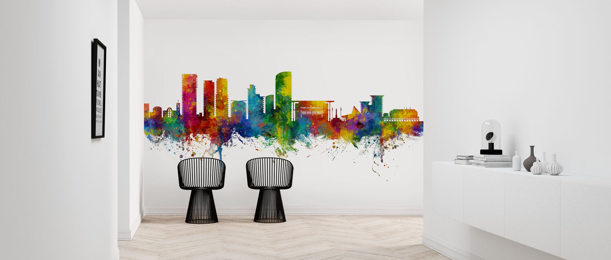 Darwin Australia Skyline - Wallpaper - Hallway