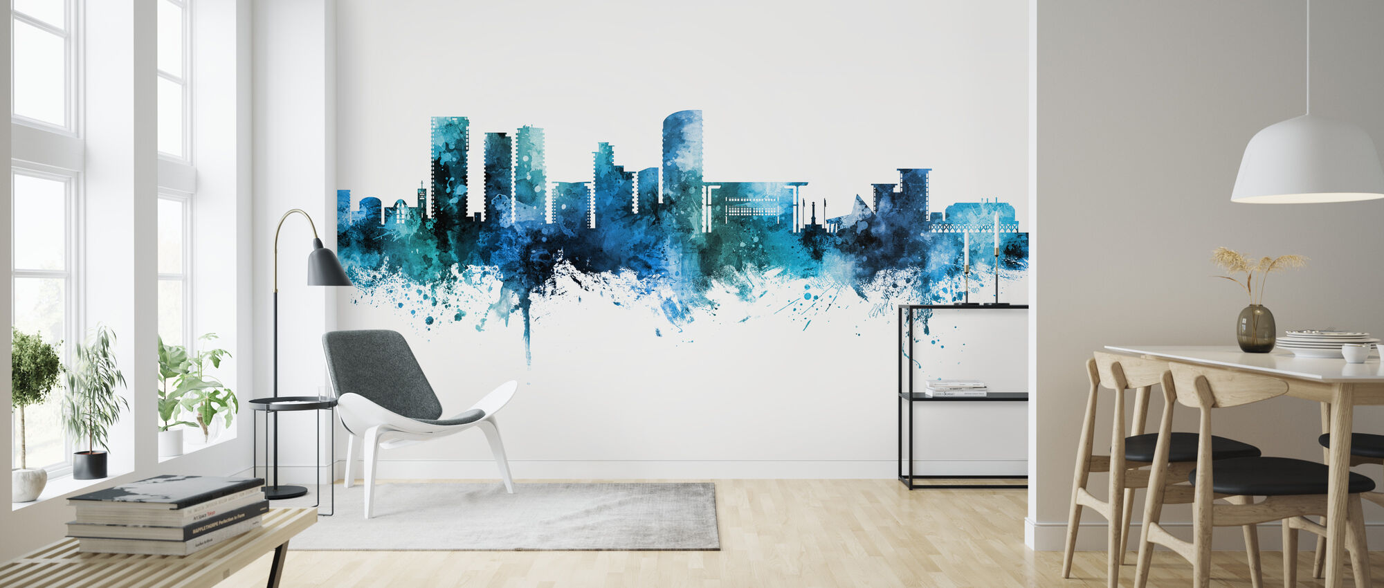 Darwin Australia Skyline - Wallpaper - Living Room