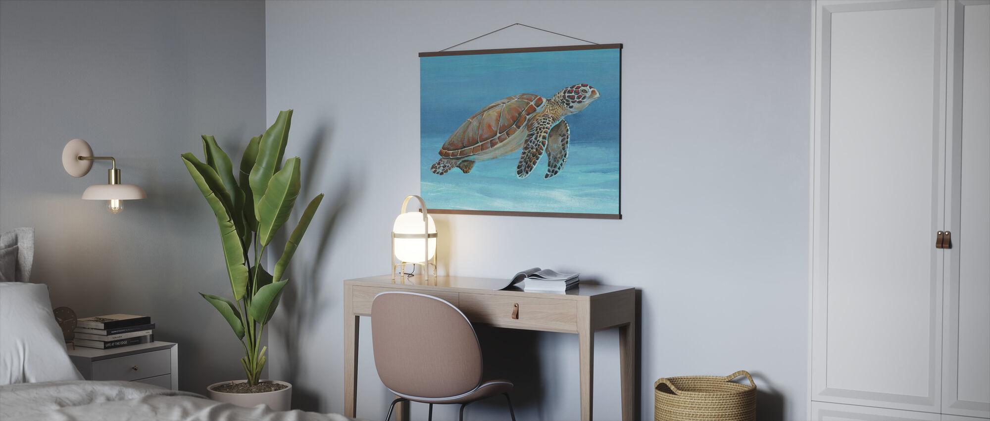 Ocean Sea Turtle - Poster - Office