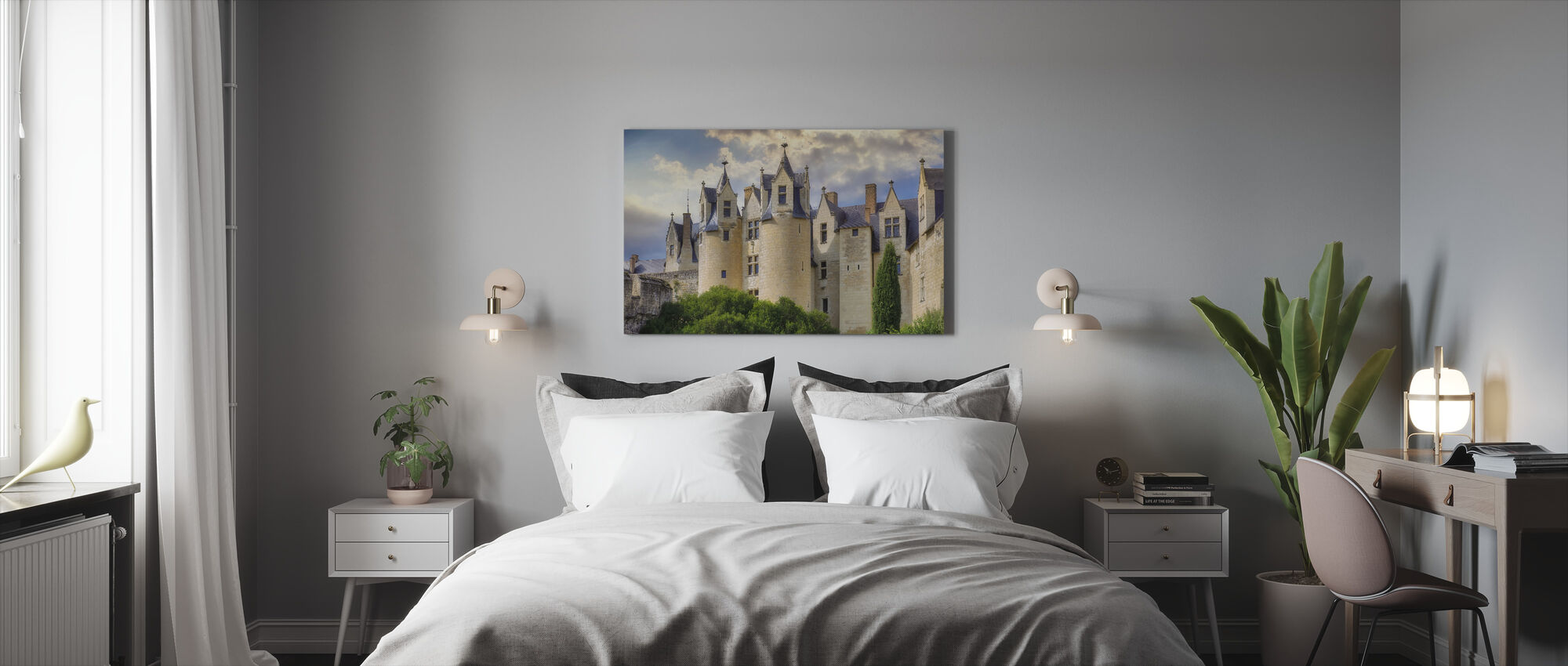 Tower Castle - Canvas print - Bedroom
