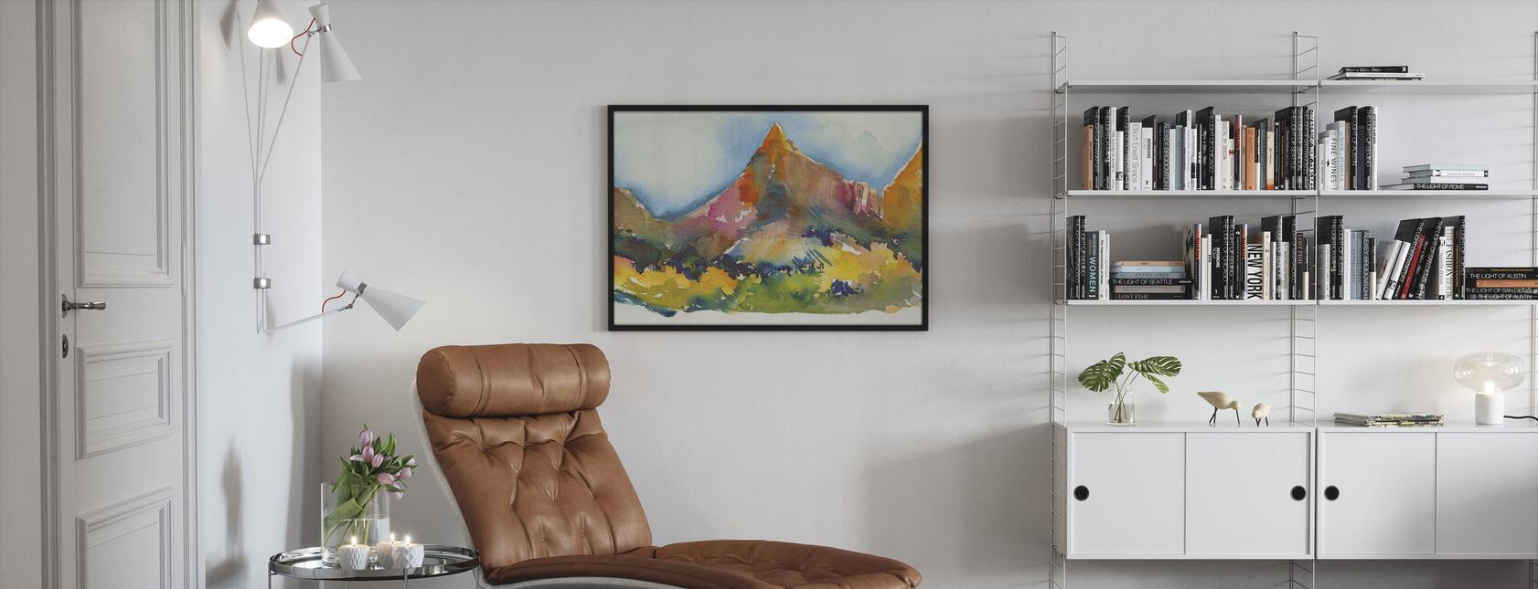 Canyon Land - Ingelijste print - Woonkamer
