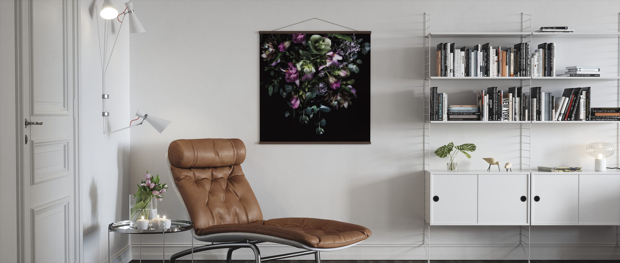 Hellebores Bouquet - Poster - Living Room
