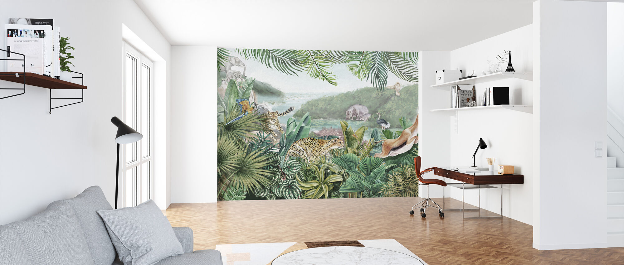 Jungle Insights - Wallpaper - Office