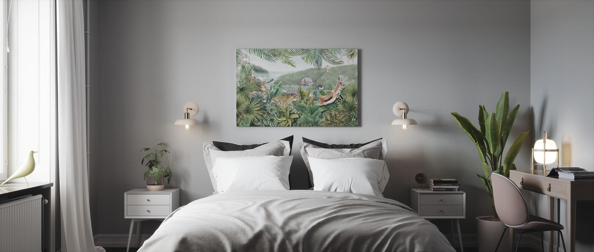Jungle Insights - Canvas print - Bedroom