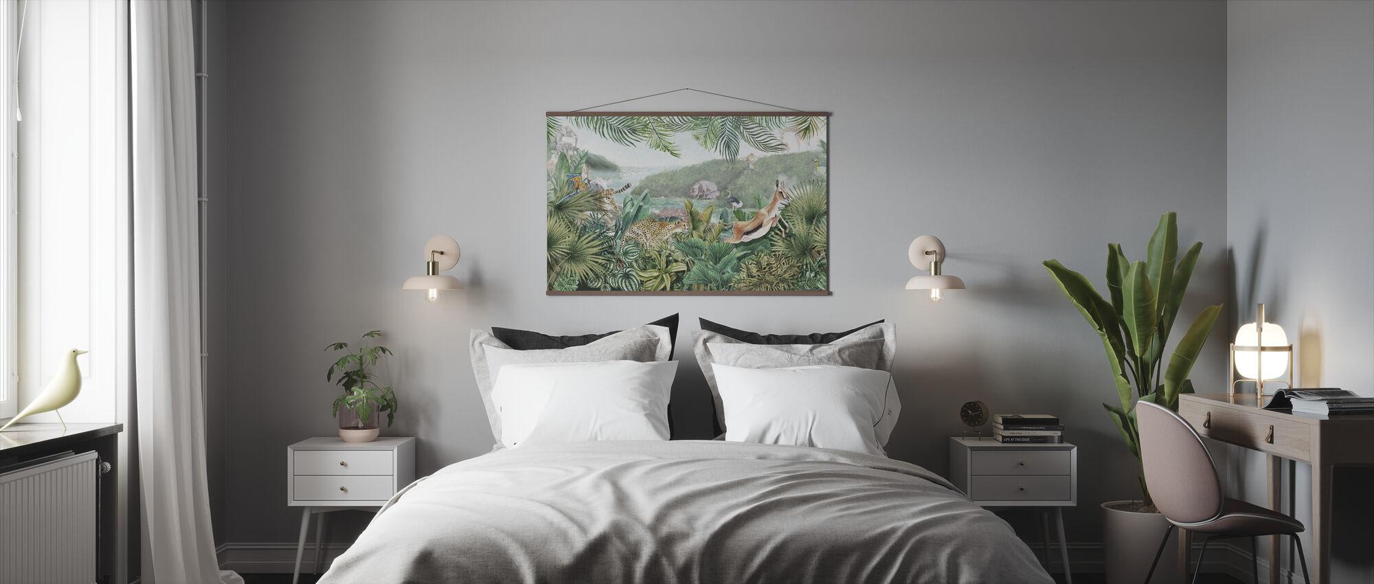 Jungle Insights - Poster - Bedroom