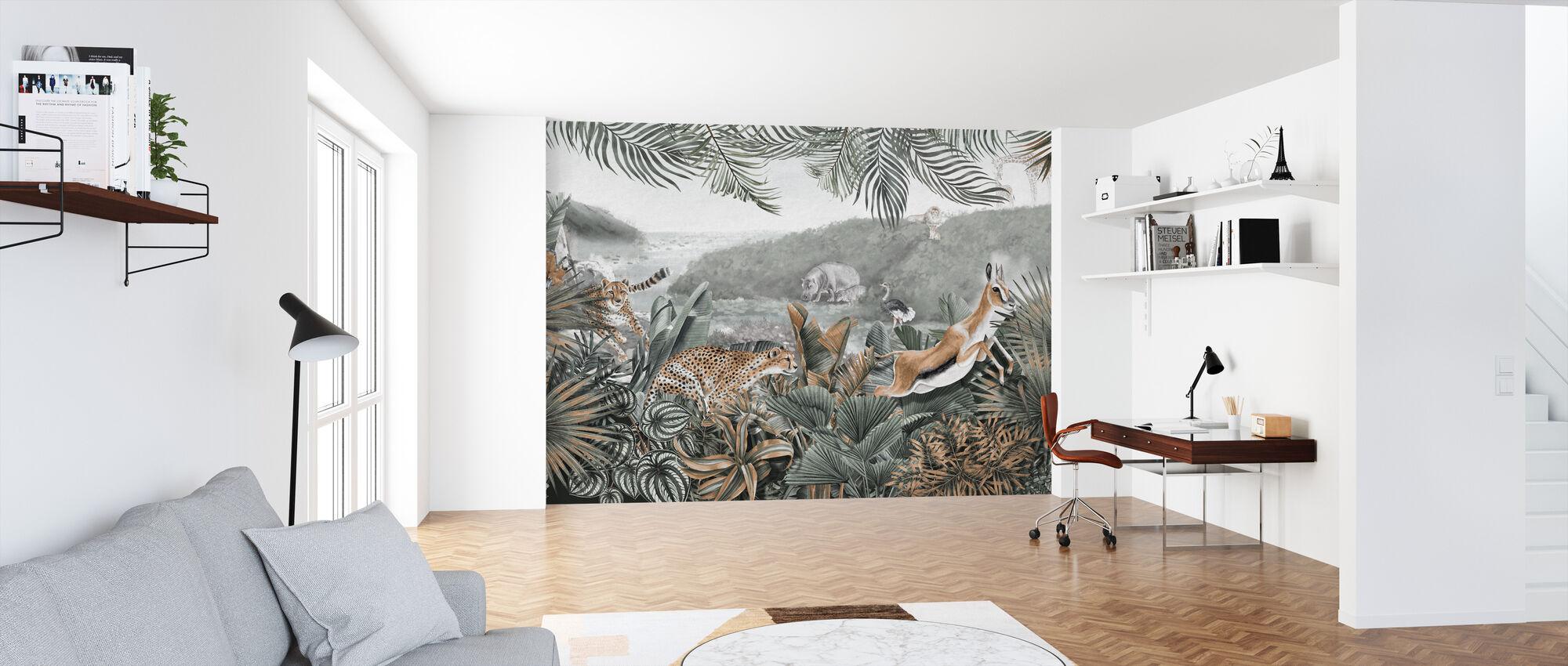Jungle Insights II - Wallpaper - Office