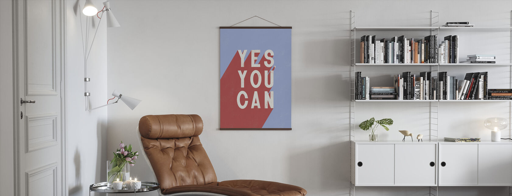 Yes You Can - Poster - Living Room