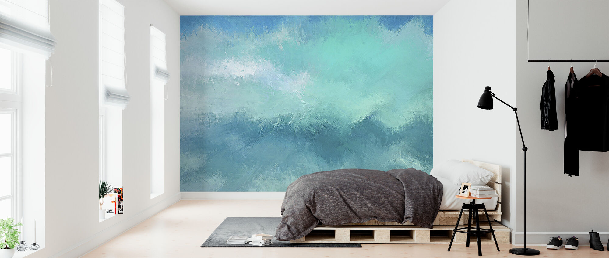Water Color - Wallpaper - Bedroom