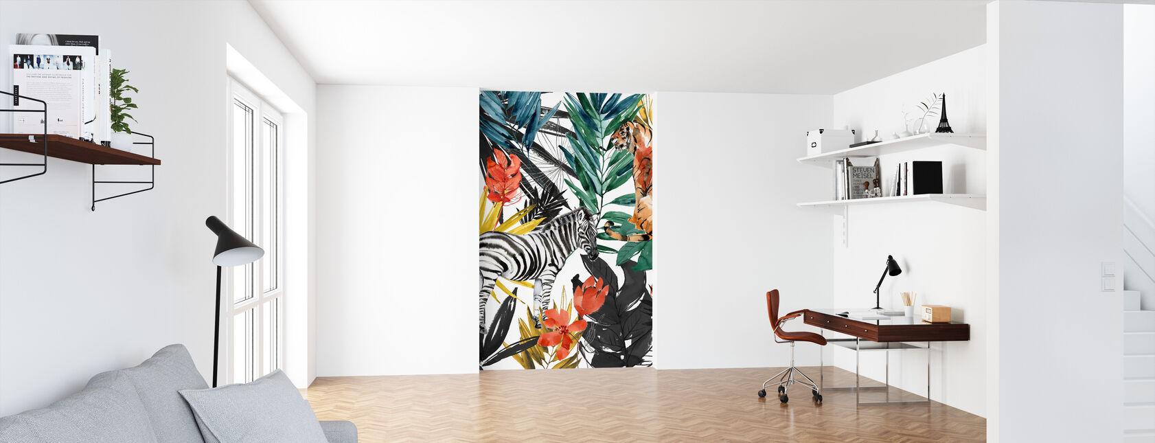 Jungle Life - Wallpaper - Office