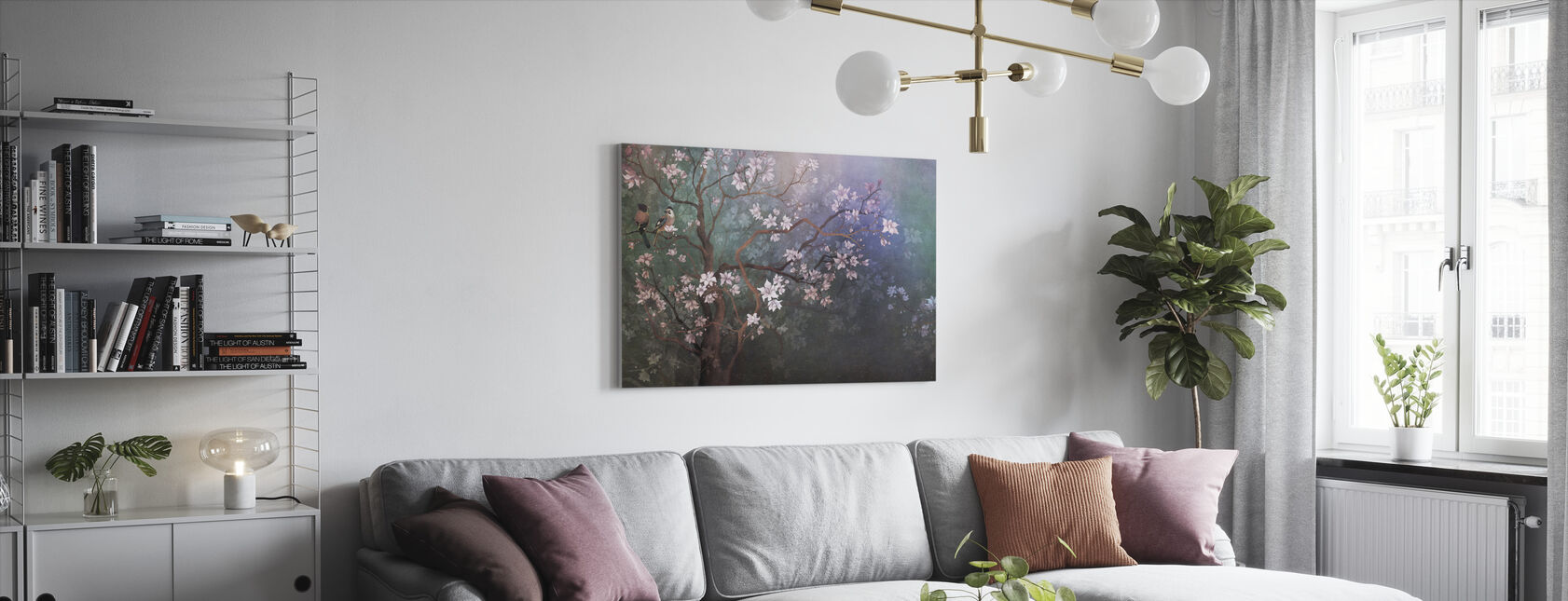Best Friends Branch V - Canvas print - Living Room