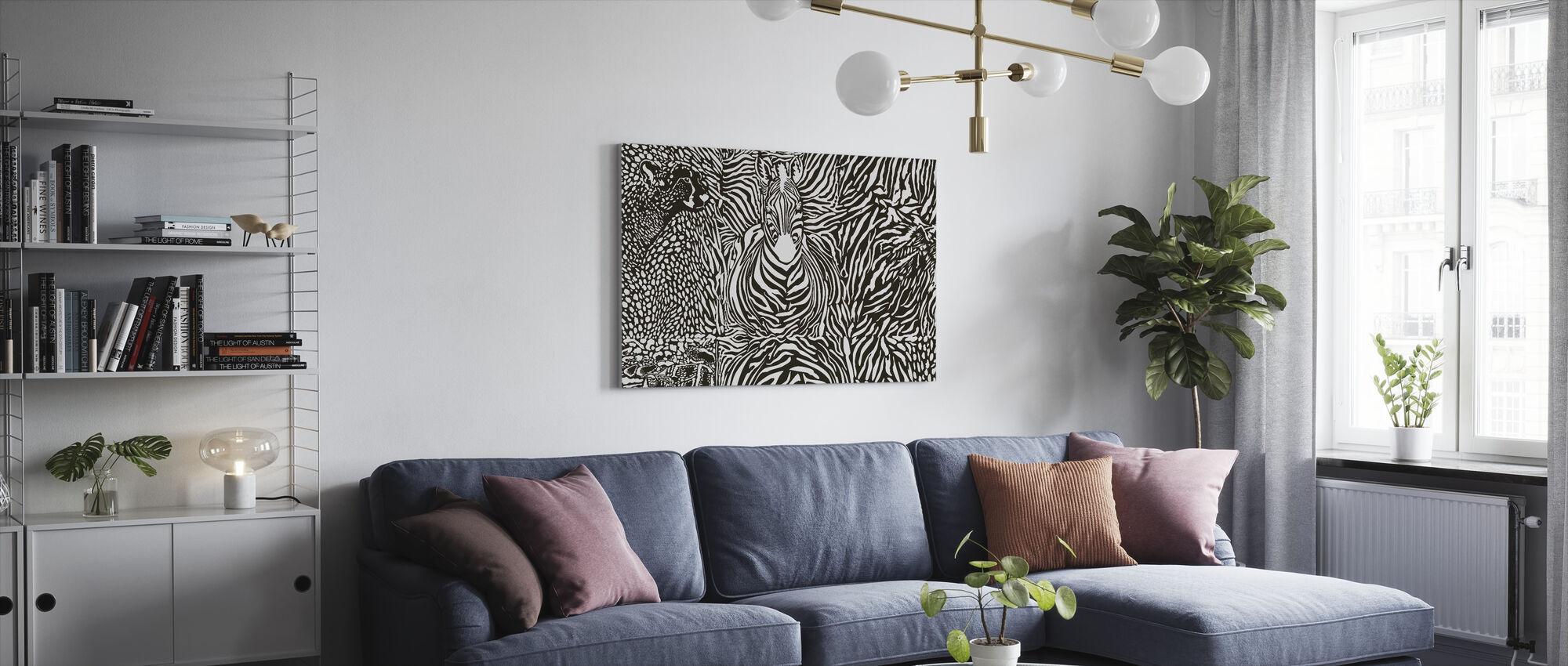 Wilderness Spirit - Canvas print - Living Room