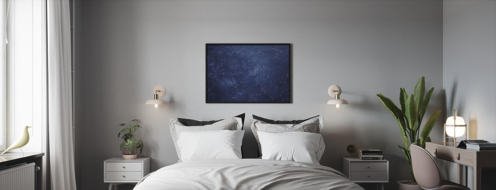 Zoodiac Sky - Framed print - Bedroom