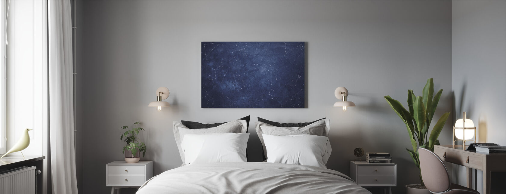 Zoodiac Sky - Canvas print - Bedroom