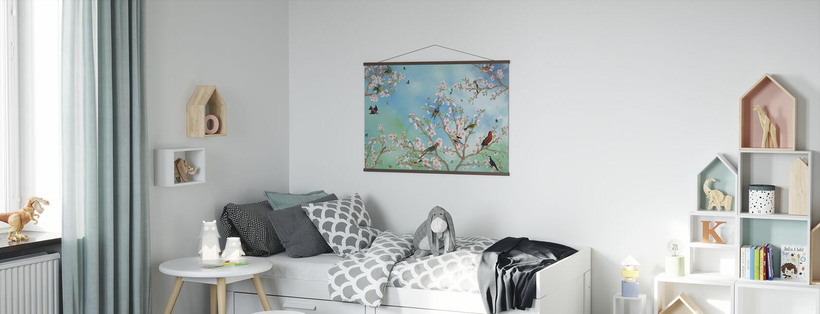 Sakura - Affiche - Chambre des enfants