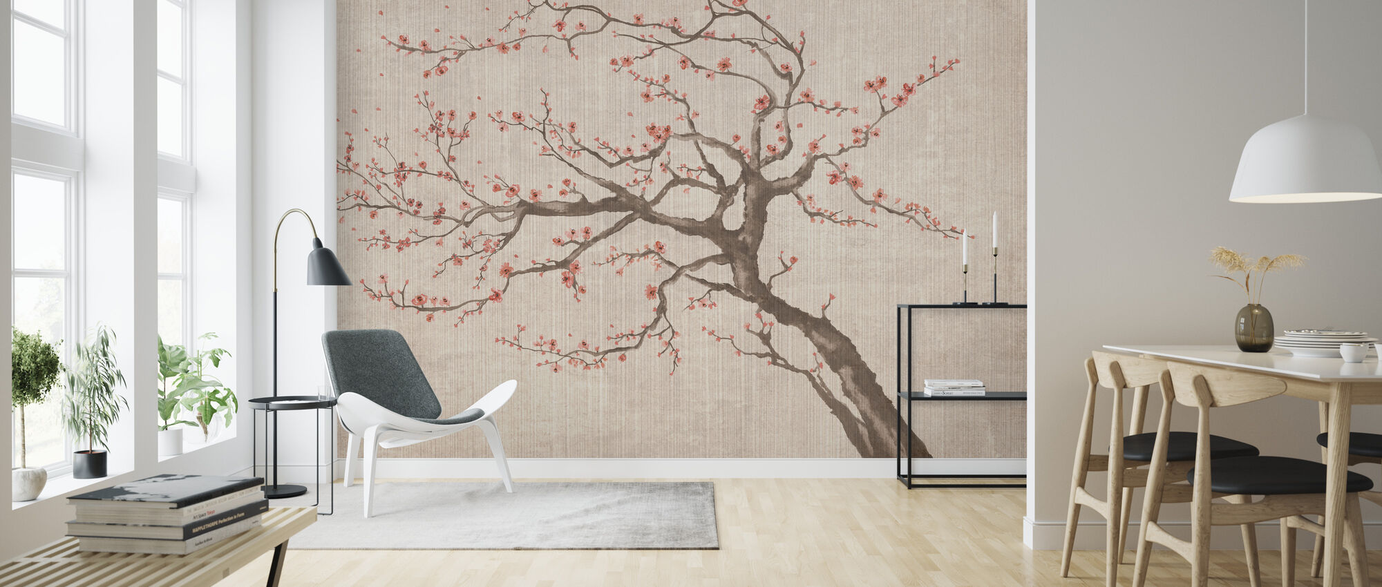 Sakura Våren VII - Tapet - Stue
