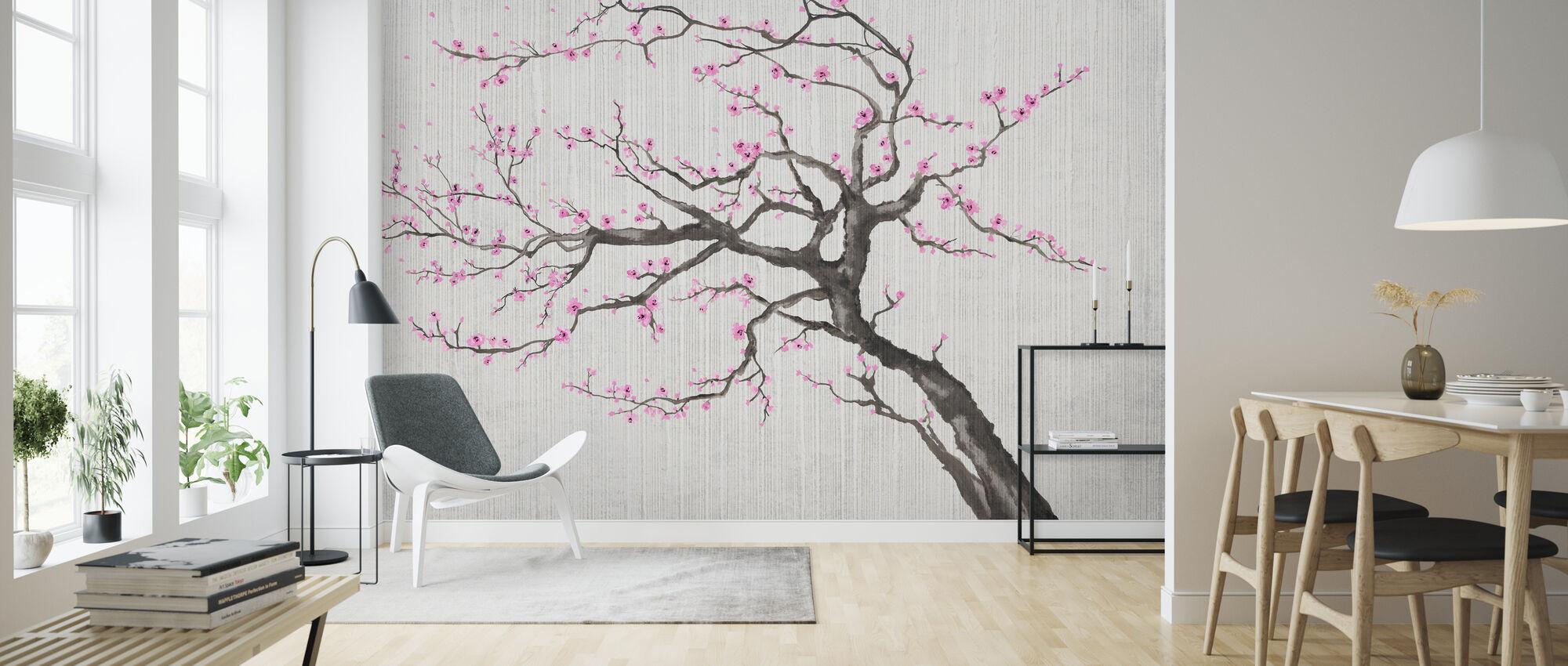 Sakura Spring X - Wallpaper - Living Room