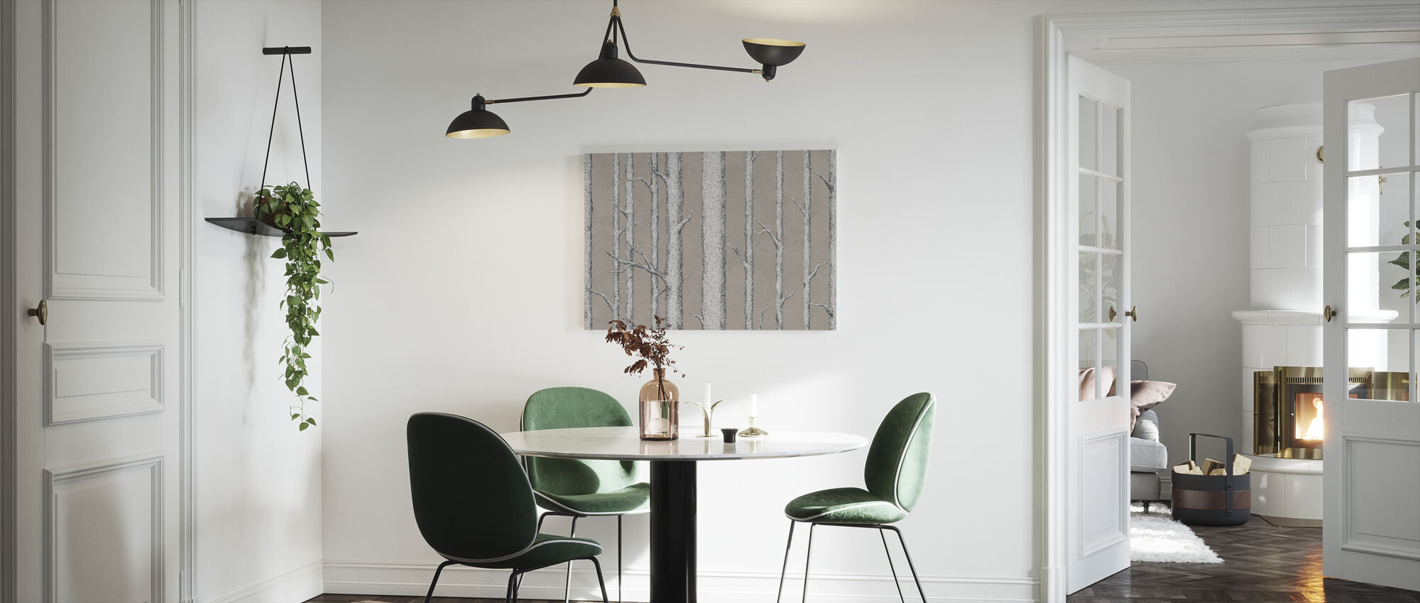 Tree Trunk V - Canvas print - Kitchen