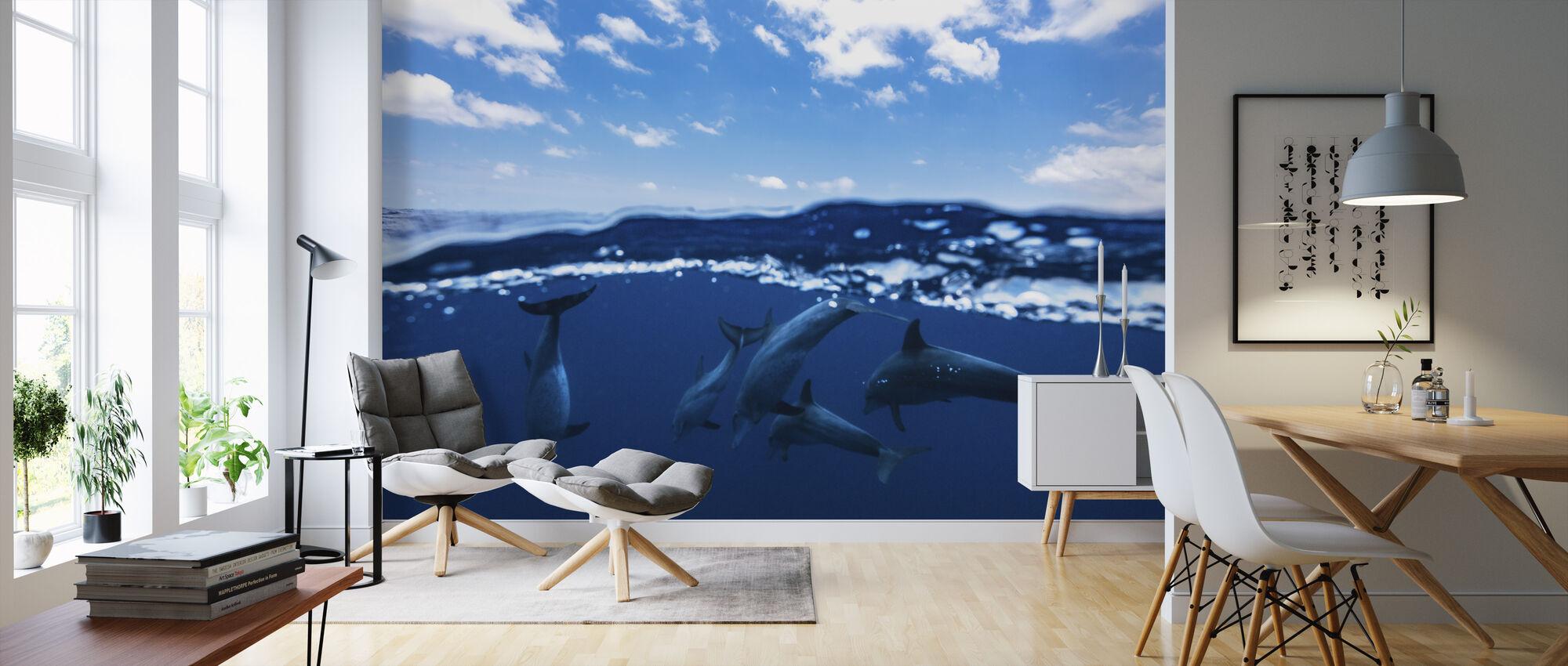 Between Air and Water - Wallpaper - Living Room