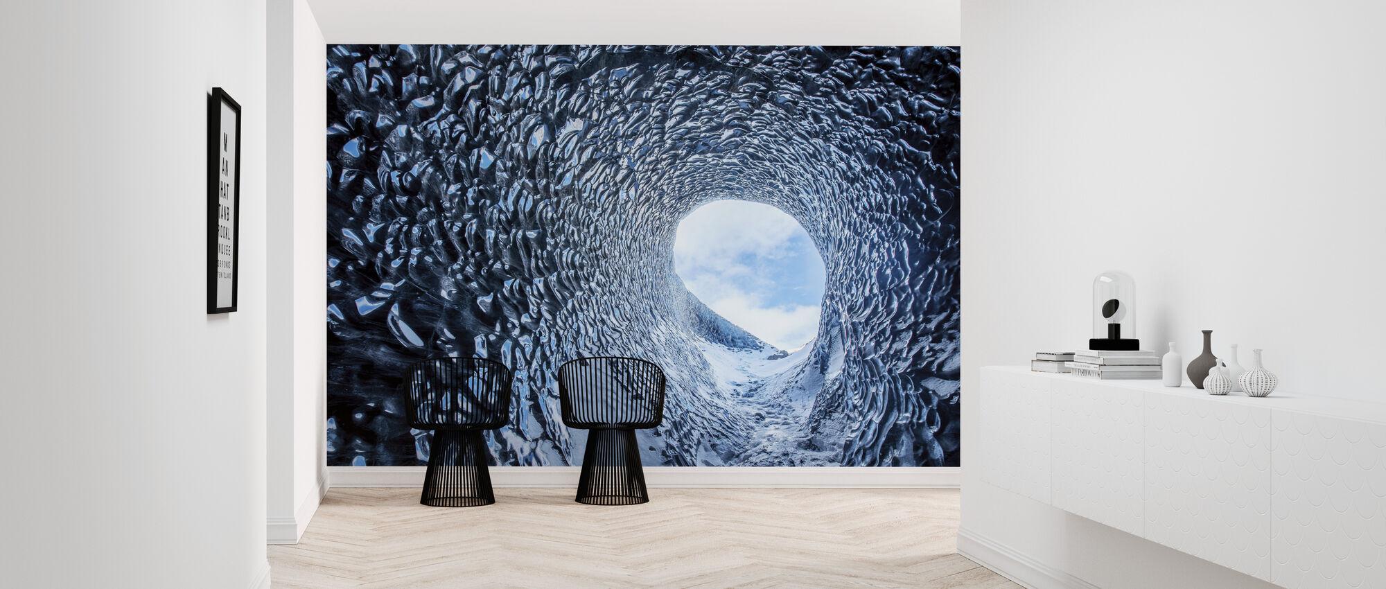 Ice Cave - Wallpaper - Hallway