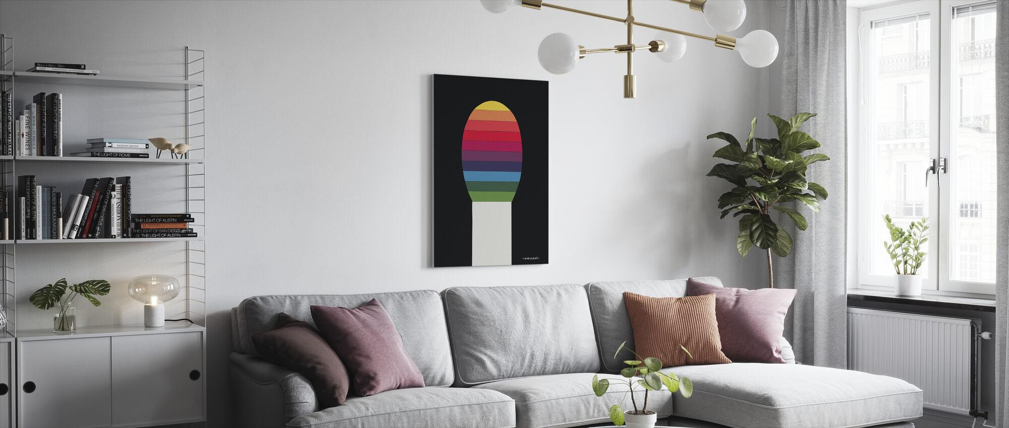 Match V - Canvas print - Living Room