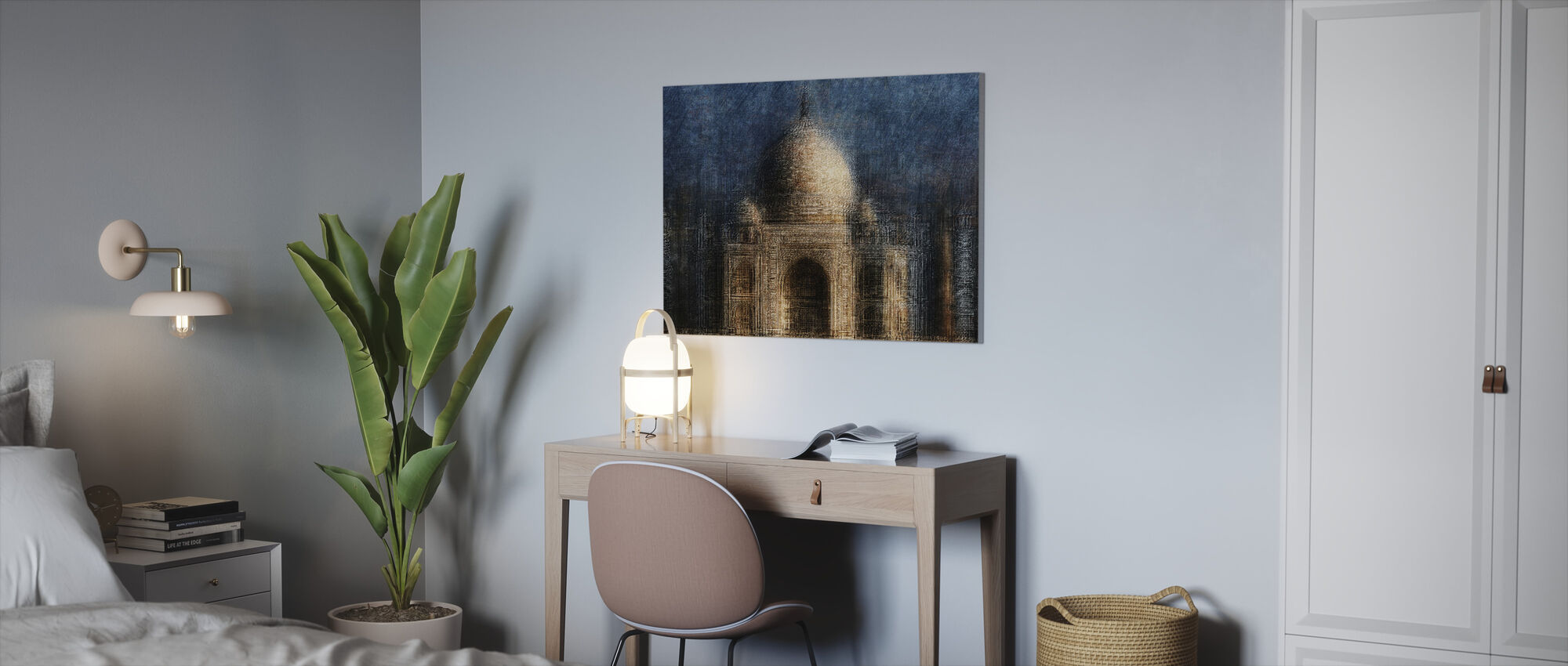 Taj Mahal - Canvastaulu - Toimisto