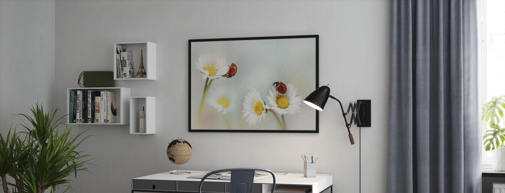 Springtime - Framed print - Office