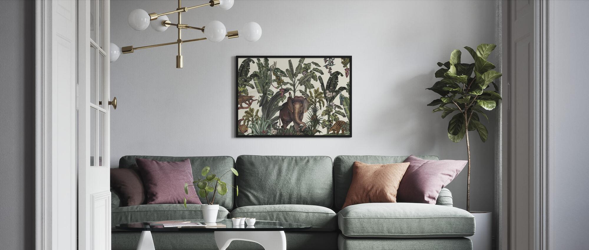 Animal Kingdom - Framed print - Living Room