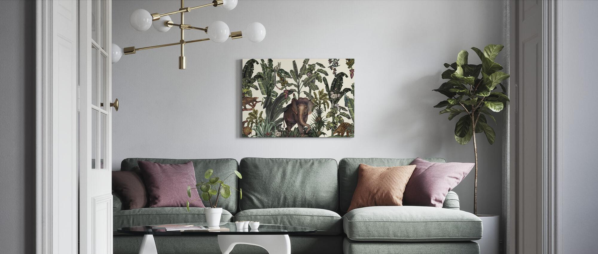 Animal Kingdom - Canvas print - Living Room