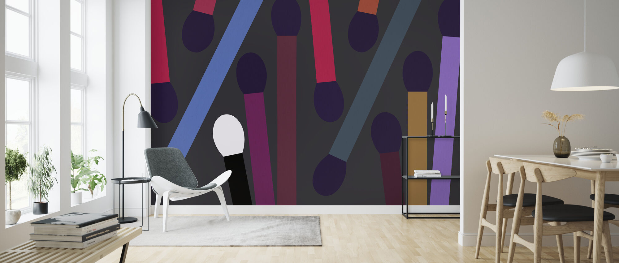 Dark Ignition - Wallpaper - Living Room