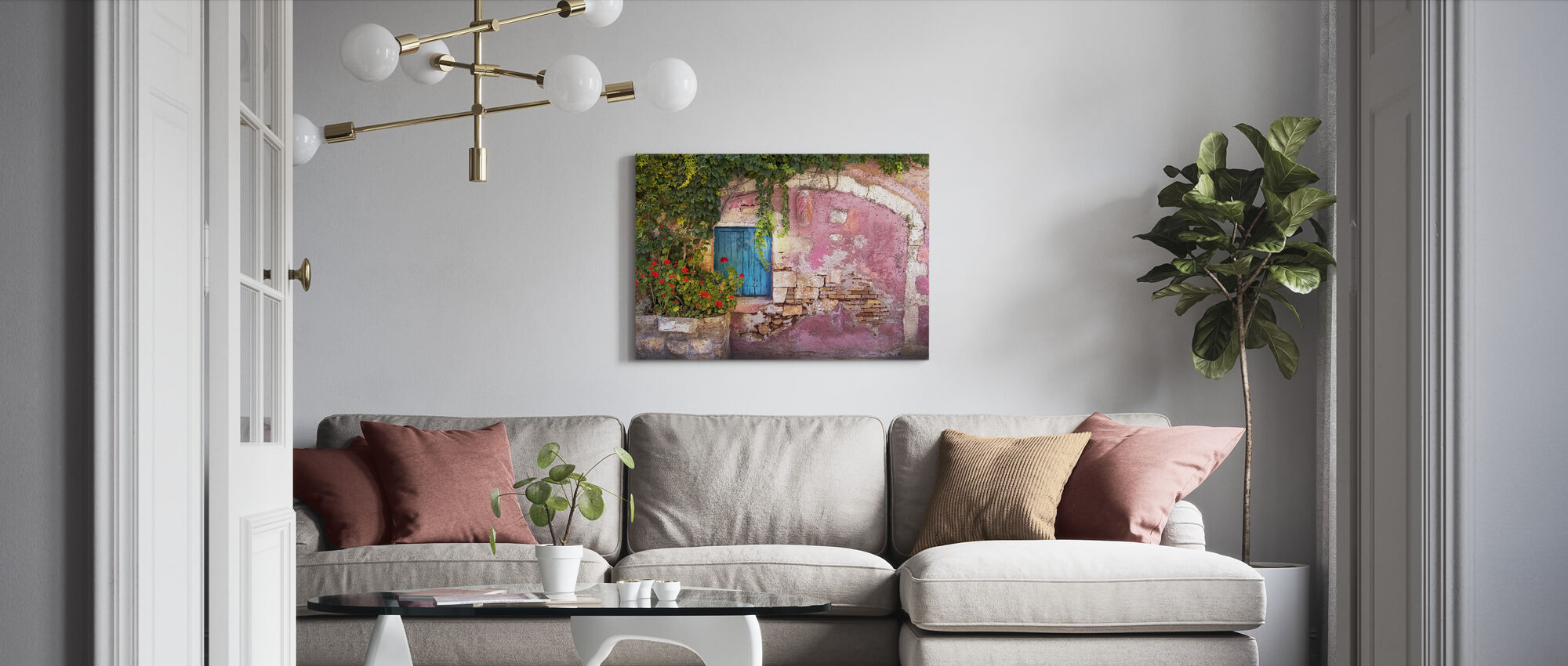 Secret Passage - Canvas print - Living Room