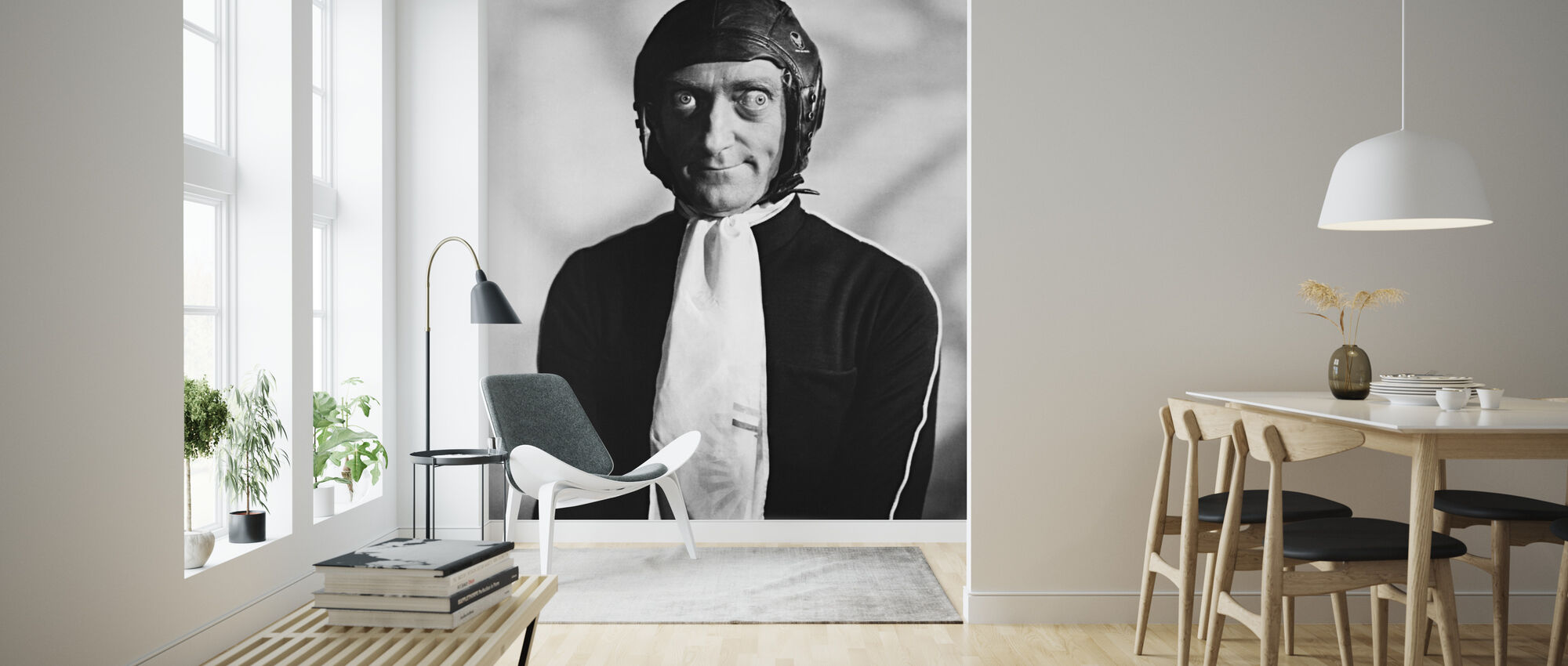 Silent Film - Marty Feldman - Behang - Woonkamer