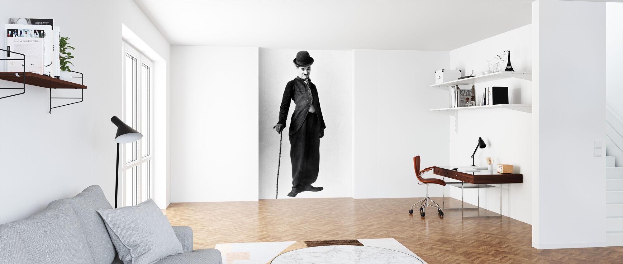 Vamp - Charlie Chaplin - Behang - Kantoor