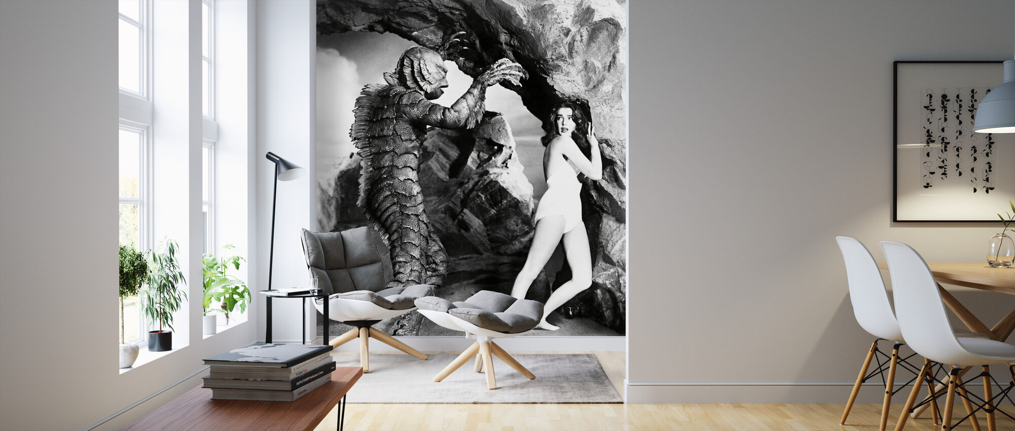 Creature from the Black Lagoon - Wallpaper - Living Room