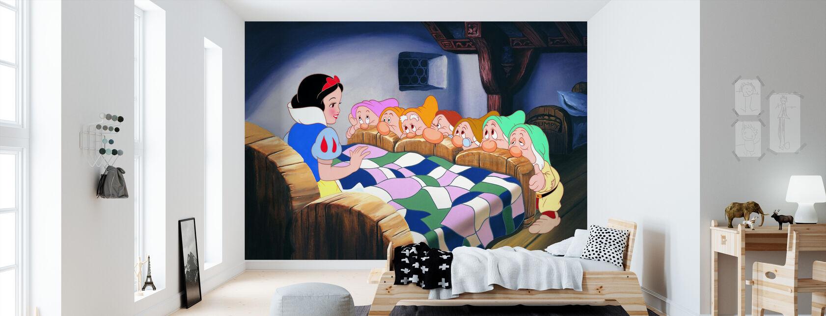 Snow White and the Seven Dwarfs - Wallpaper - Kids Room