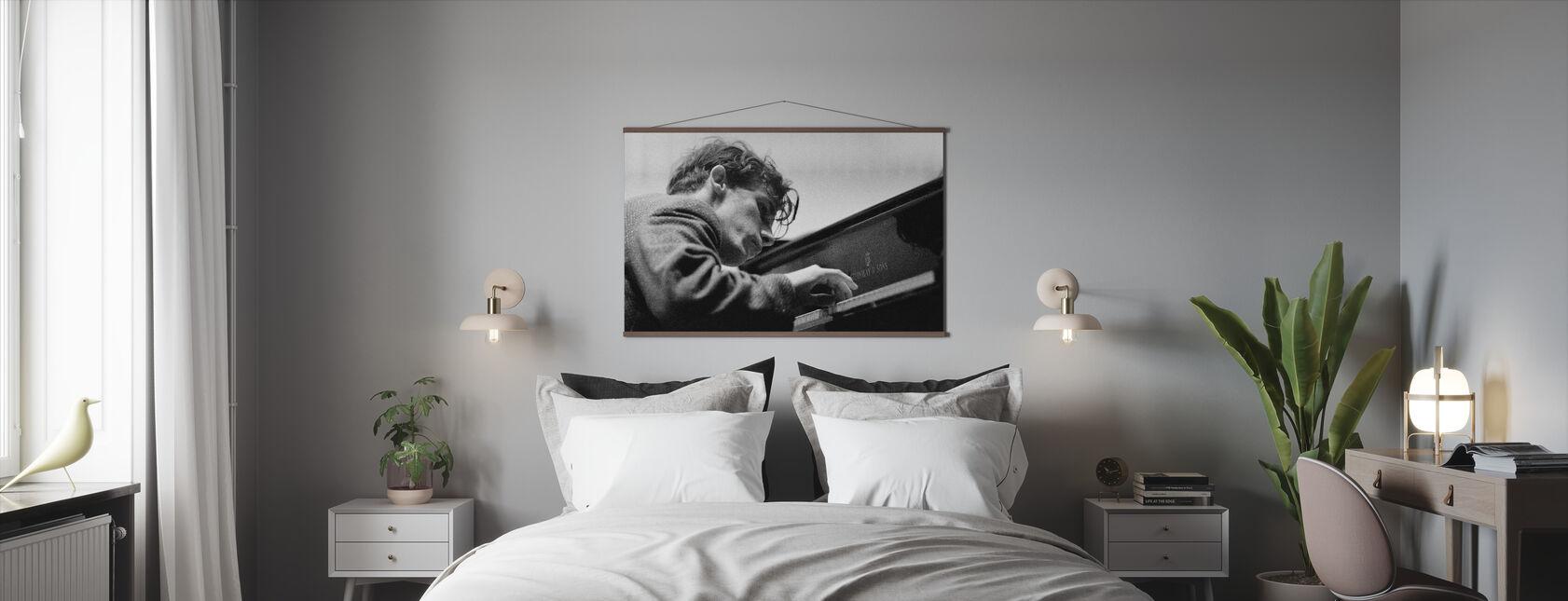 Glenn Gould - Poster - Slaapkamer
