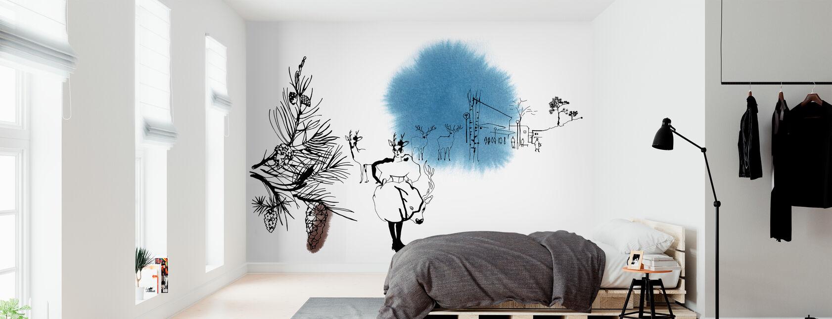 Björkhagen - Wallpaper - Bedroom