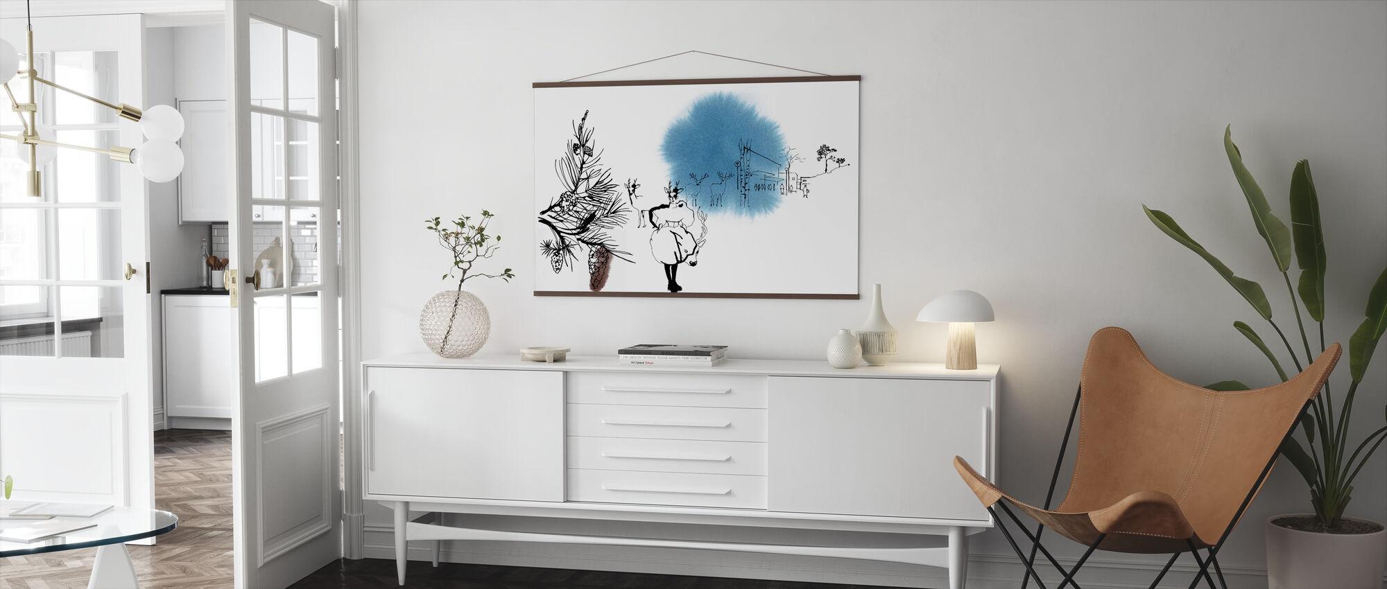 Björkhagen - Poster - Living Room