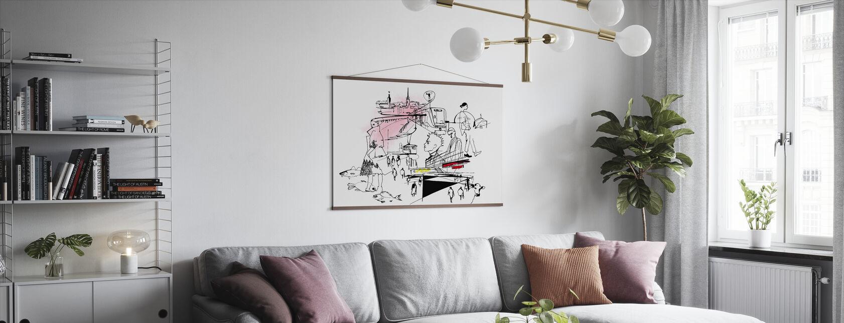 Stockholms stad - Poster - Vardagsrum