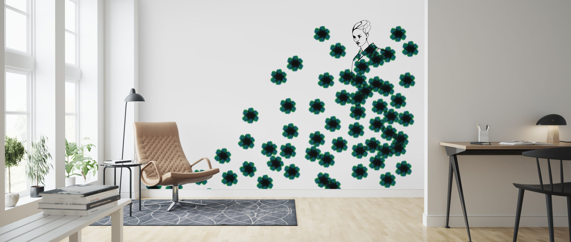Fashion Camo - Wallpaper - Living Room
