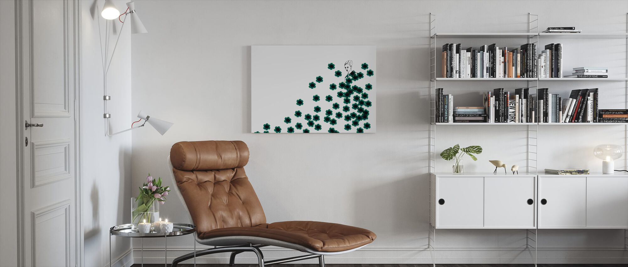 Fashion Camo - Canvas print - Living Room