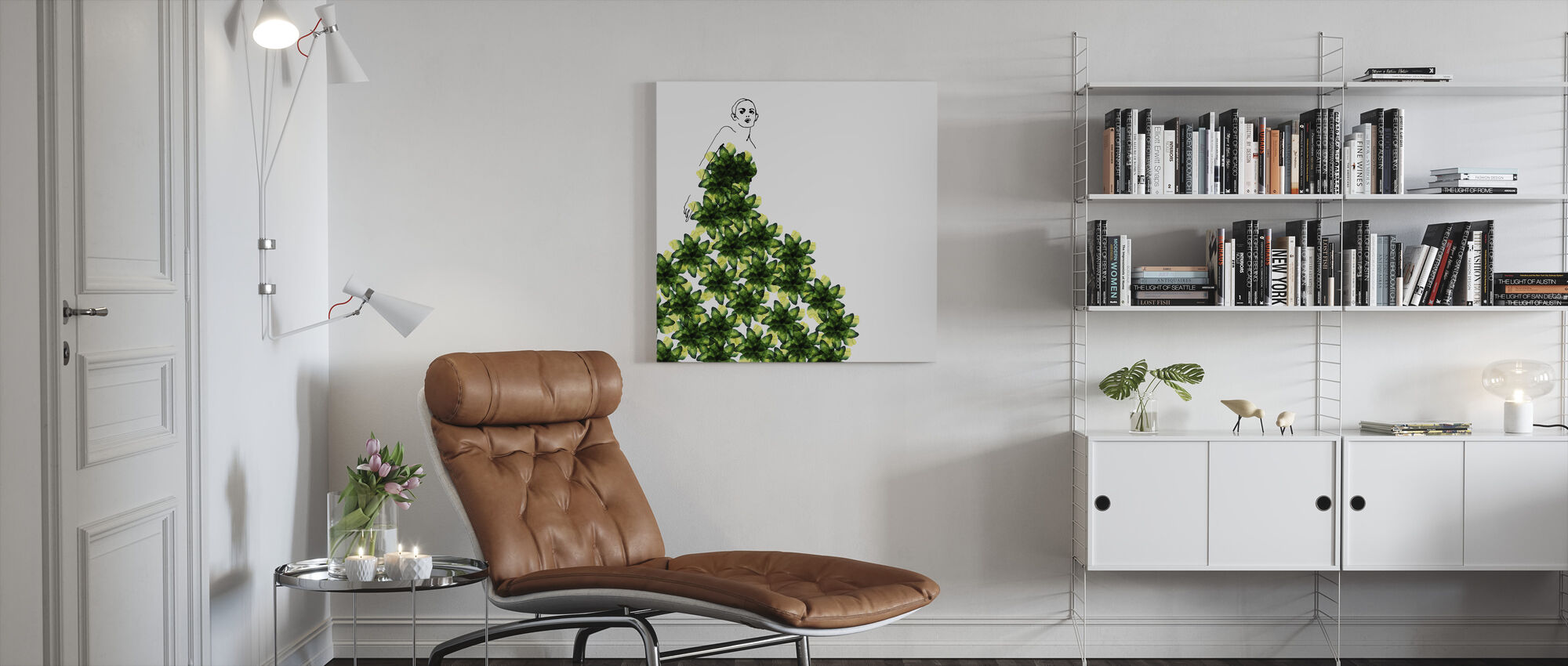 Into the Green - Canvas print - Living Room