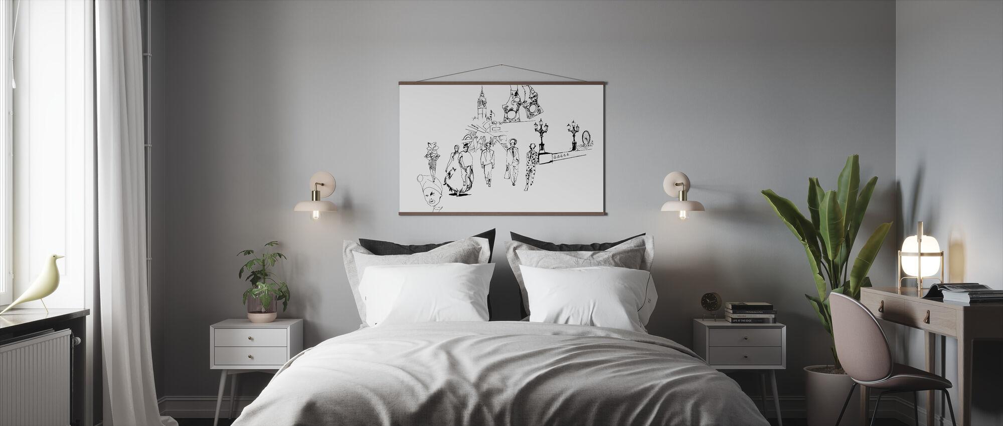 London Metro Fashion - Poster - Bedroom