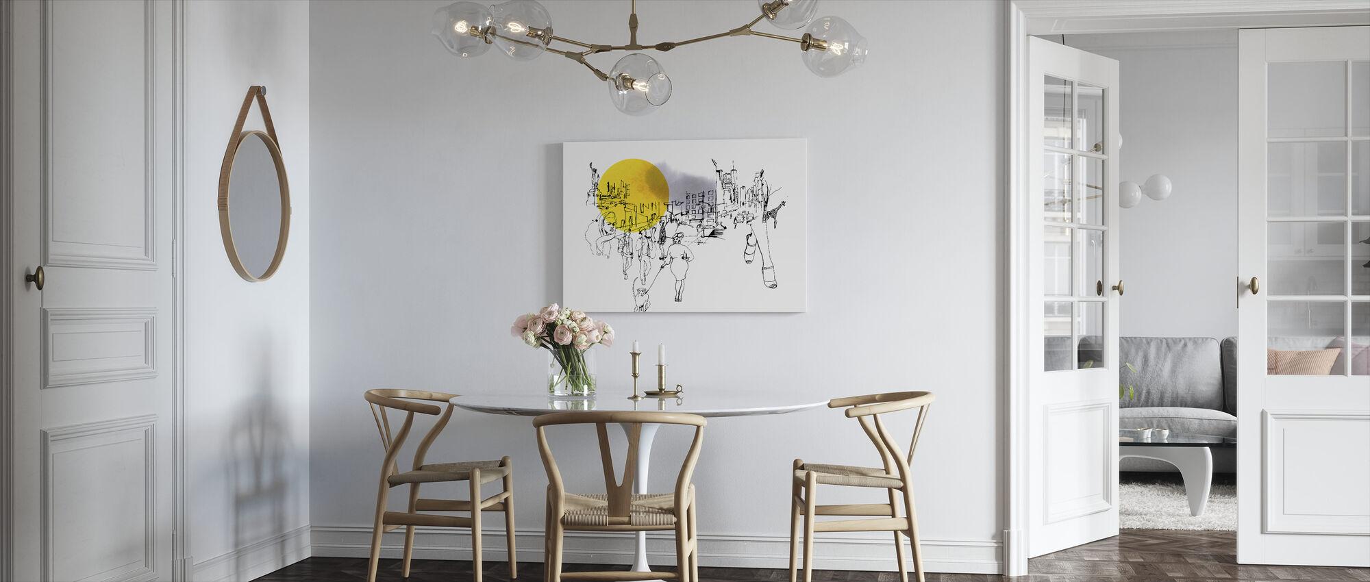 New York City - Canvas print - Kitchen