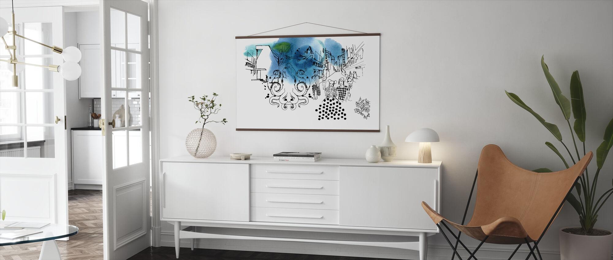 Tokyo II - Poster - Living Room